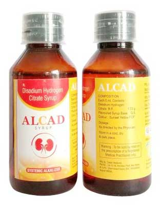 Alkad - Disodium Hydrogen Citrate Syrup