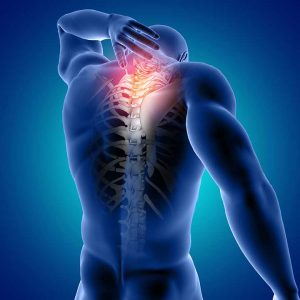 Back pain caused by anterolisthesis
