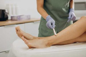 laser hair removal procedure needs cold paste