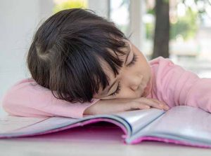 day sleepiness is a symptom of mouth breathing in children