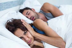 snoring at night is a symptom of mouth breathing in adults
